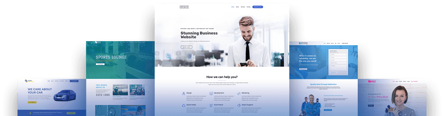 custom website for business owners local